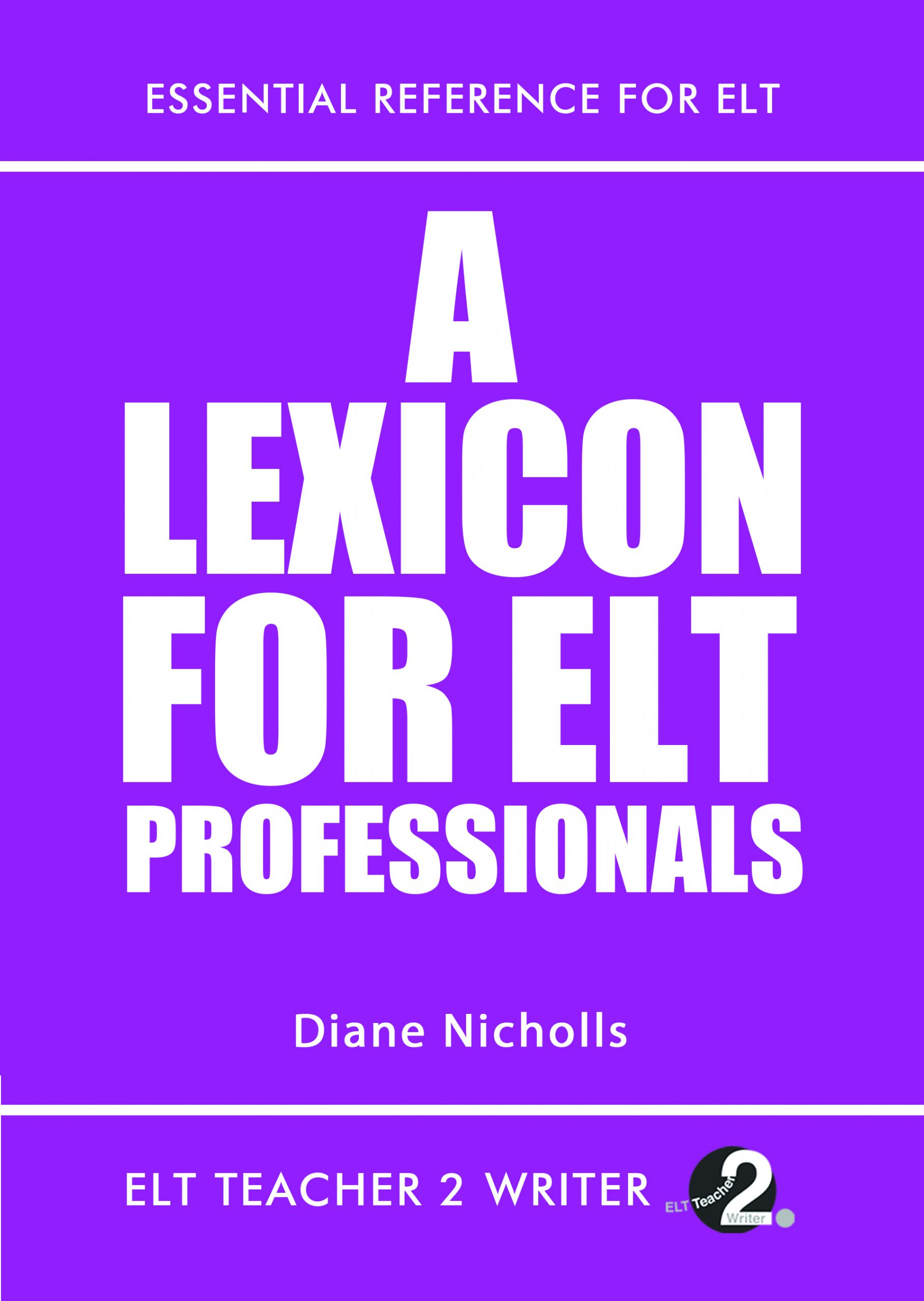 A Lexicon for ELT Professionals